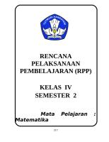 RPP MATEMATIKA KELAS 4 SMT 2.doc