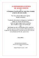 A Verdadeira Esposa de Jesus Cristo Volume I - Santo Afonso Maria de Ligorio.pdf