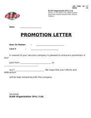 Promotion Letter.doc