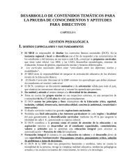 CONTENIDOS TEMATICOS PARA EVALUACION DE DIRECTORES.doc