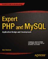 Expertos PHP y MySQL Diseño y Desarrollo de Aplicaciones.pdf