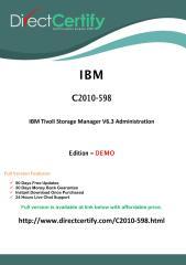 C2010-598 Free  Dump Download (PDF).pdf