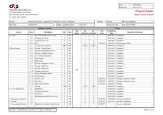 Project Progress  Schedule Report 07-04-2011.xls