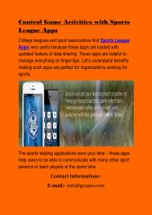 Control Game Activities with Sports League Apps.pdf