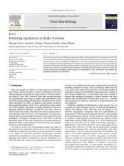Garcia et al 2009 - Predicting mycotoxins in foods - a review.pdf