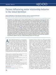 Factors-influencing-molar-relationship-behavior-in-the-mixed-dentition_2015_American-Journal-of-Orthodontics-and-Dentofacial-Orthopedics.pdf