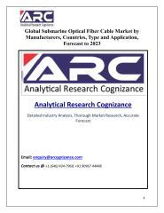 Global Submarine Optical Fiber Cable Market.pdf